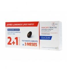 ANACAPS REACTIV CABELLO Y UÑAS DUCRAY 30 CAPS 3