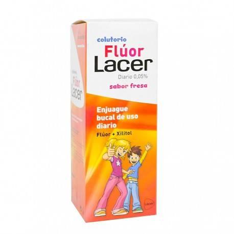 LACER COL. FLUOR FRESA 500 ML