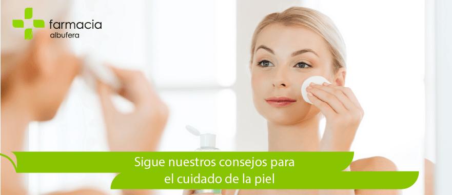 Consejos diarios para el cuidado de la piel